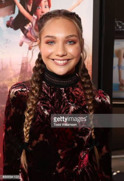 Maddie Ziegler attends the premiere Of The Weinstein Company's 'Leap' at Pacific Theatres at The Grove on August 19 2017 in Los Angeles California