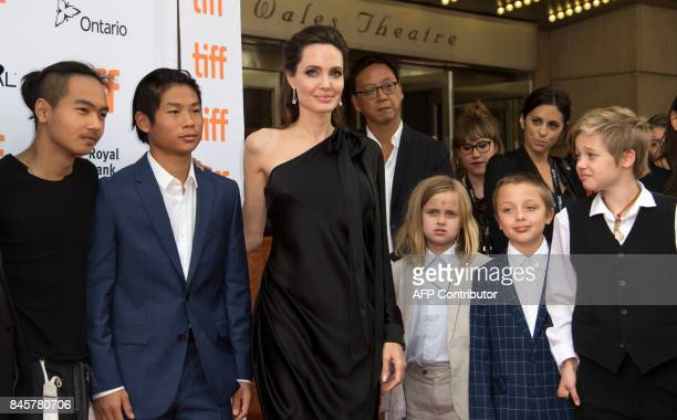 TOPSHOT Maddox Chivan JoliePitt Pax Thien JoliePitt Angelina Jolie Vivienne Marcheline JoliePitt Knox Leon JoliePitt and Shiloh Nouvel JoliePitt...