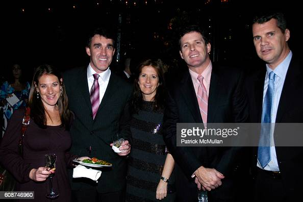Maddy Dromberger Joe Gallagher Valerie Keine Brian Quinn and Chris Collins attend THE WALL STREET JOURNAL Celebrates the Holiday Season with an...