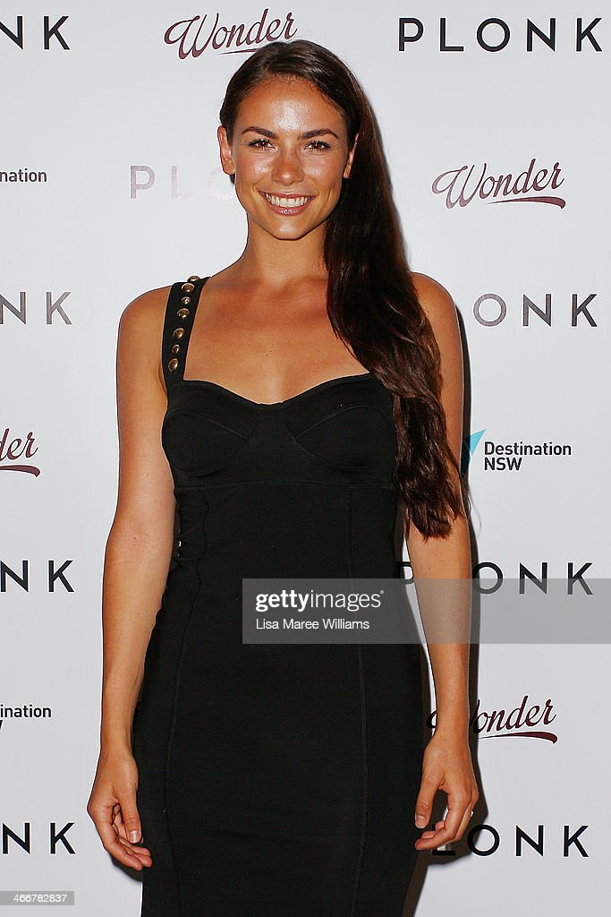 Maddy King arrives at the PLONK media launch at Palace Verona on February 4, 2014 in Sydney, Australia.