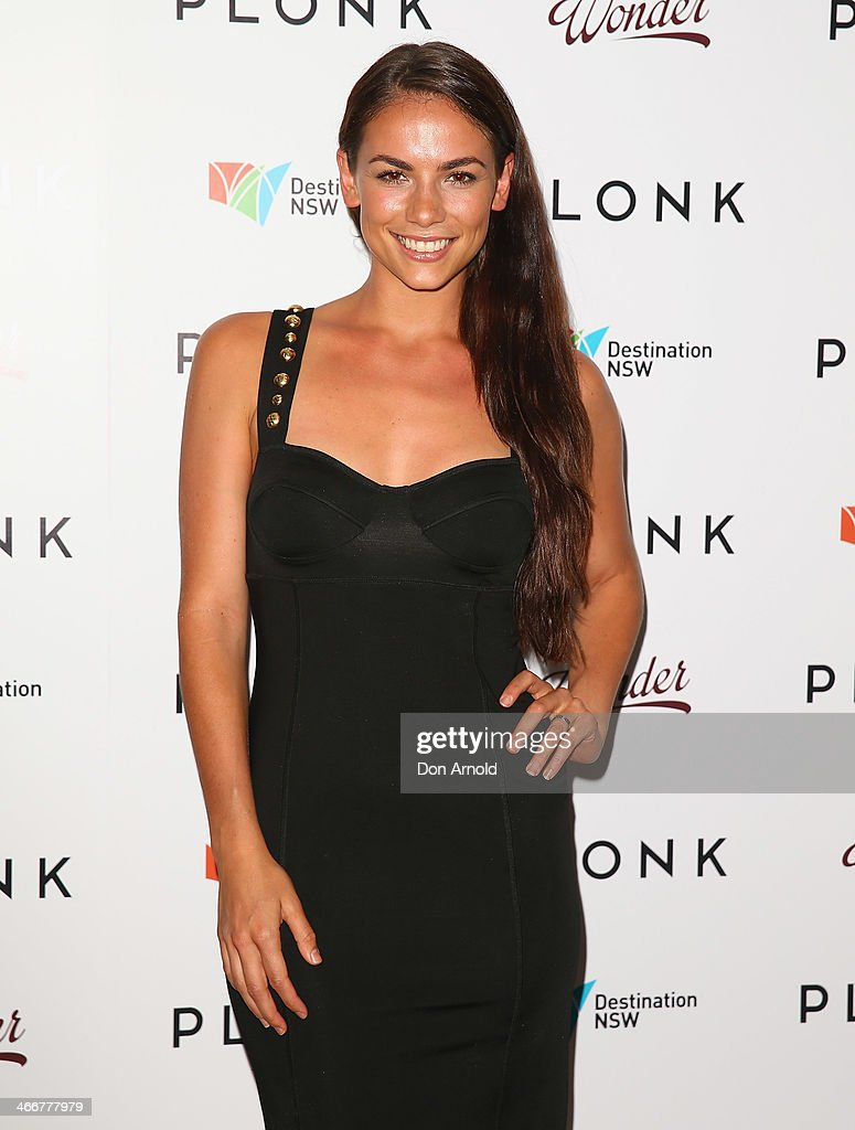 Maddy King poses during the PLONK media launch at Palace Verona on February 4, 2014 in Sydney, Australia.