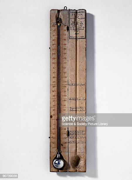Made by Pierre Casati this was one of the first to use the Celsius scale of heat measurement invented in 1742 by the Swedish astronomer Anders...