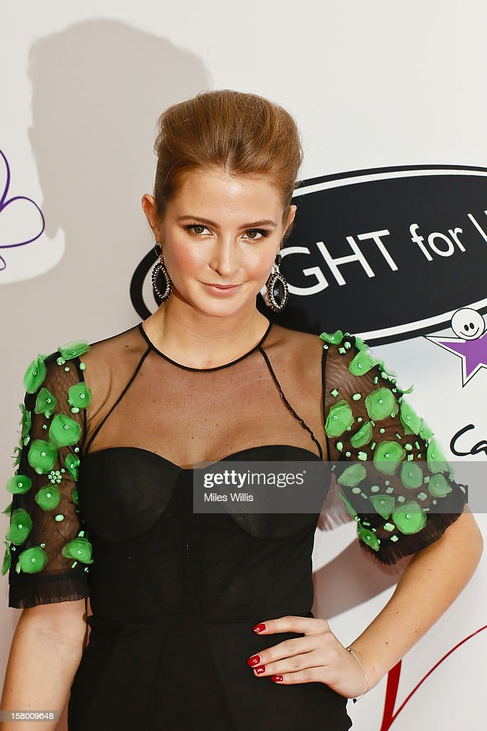 Made in Chelse star Millie Mackintosh arrives at the Noble Gift Gala held at the ME Hotel on December 8, 2012 in London, England.