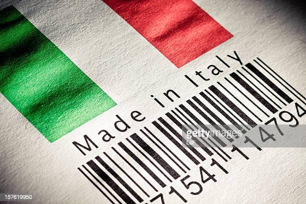 in Italia con il codice a barre del prodotto