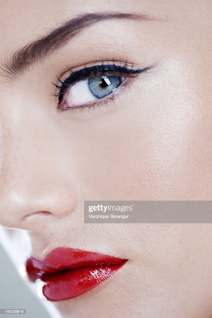 Made up face : Stock Photo