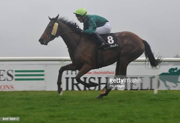 Madeira Boy ridden by Gearoid Butler wins The Stephen Quirke Memorial Apprentice Handicap during the Hacketts Bookmakers Irish...