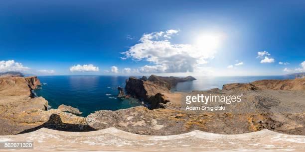 Madeira-Landschaft (360-Grad-Panorama)