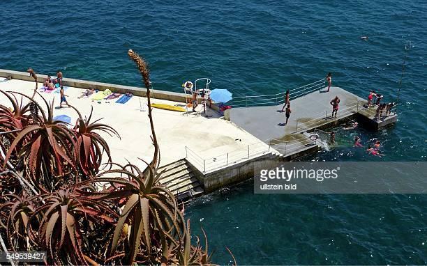 Seebad bei Funchal