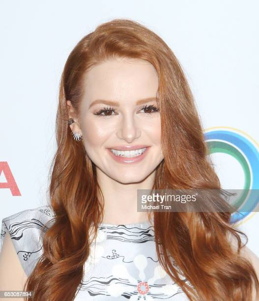 Madelaine Petsch arrives at the UCLA Institute of The Environment and Sustainability celebrates innovators for a healthy planet held at a private...