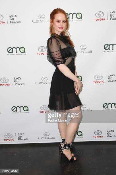 Madelaine Petsch at the Environmental Media Association's 27th Annual EMA Awards at Barkar Hangar on September 23 2017 in Santa Monica California