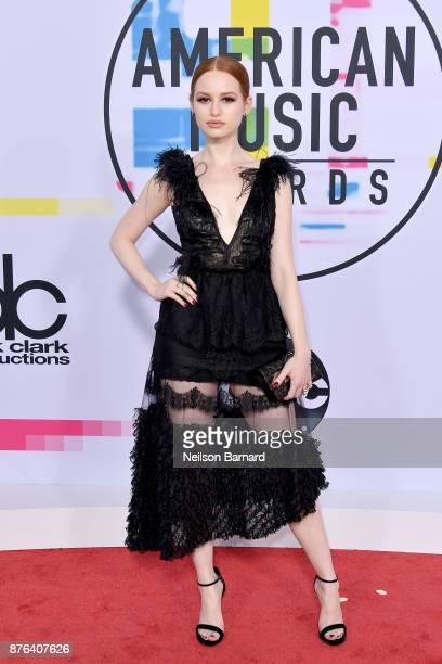 Madelaine Petsch attends the 2017 American Music Awards at Microsoft Theater on November 19 2017 in Los Angeles California