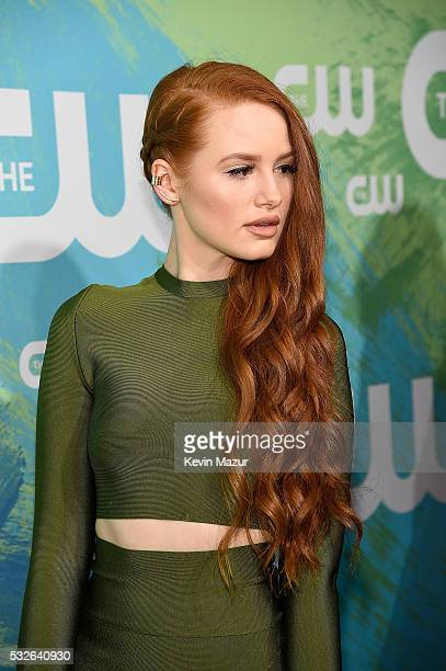 Madelaine Petsch attends The CW Network's 2016 Upfront at The London Hotel on May 19 2016 in New York City