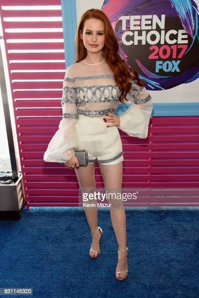 Madelaine Petsch attends the Teen Choice Awards 2017 at Galen Center on August 13 2017 in Los Angeles California