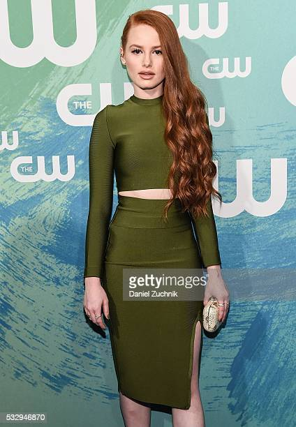 Madelaine Pretsch of the series 'Riverdale' attends The CW Network's 2016 New York Upfront at The London Hotel on May 19 2016 in New York City