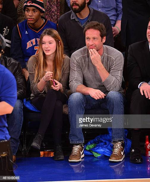 Madelaine West Duchovny David Duchovny Stock Photos and ...