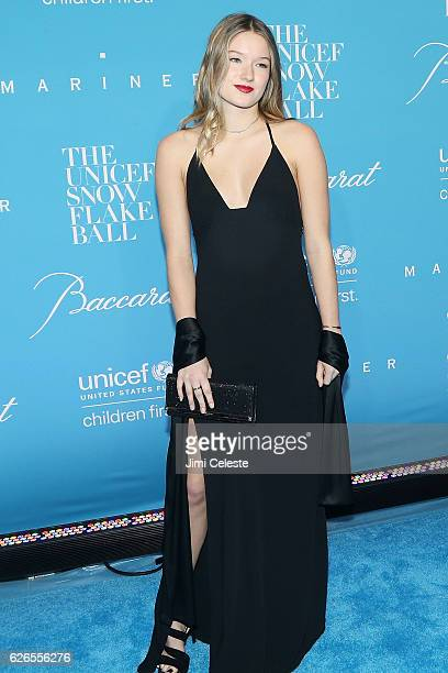 Madelaine West Duchovny attends the 12th Annual UNICEF Snowflake Ball at Cipriani Wall Street on November 29 2016 in New York City