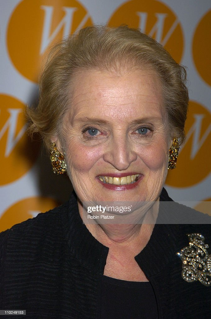 <a gi-track='captionPersonalityLinkClicked' href=/galleries/search?phrase=Madeleine+Albright&family=editorial&specificpeople=211429 ng-click='$event.stopPropagation()'>Madeleine Albright</a> during The Center for the Advancement of Women's 10th Anniversary Gala at The Waldorf Astoria in New York City, New York, United States.
