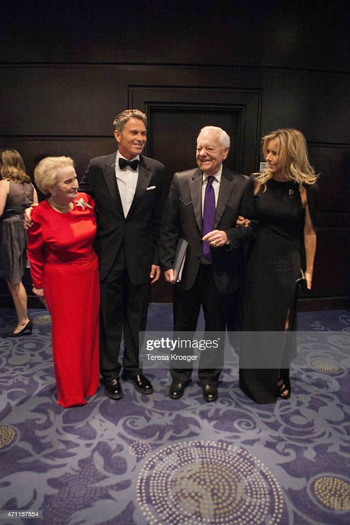 Madeleine Albright, Tim Daly, Bob Schieffer, and Tea Leoni attend the 101st Annual White House Correspondents' Association Dinner at the Washington Hilton on April 25, 2015 in Washington, DC.