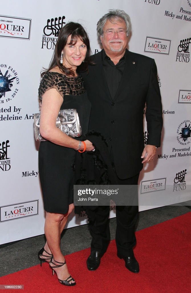 Madeleine Arison and Micky Arison attend Destination Fashion 2012 To Benefit The Buoniconti Fund To Cure Paralysis, the fundraising arm of The Miami Project to Cure Paralysis, on November 10, 2012 in Miami, Florida.