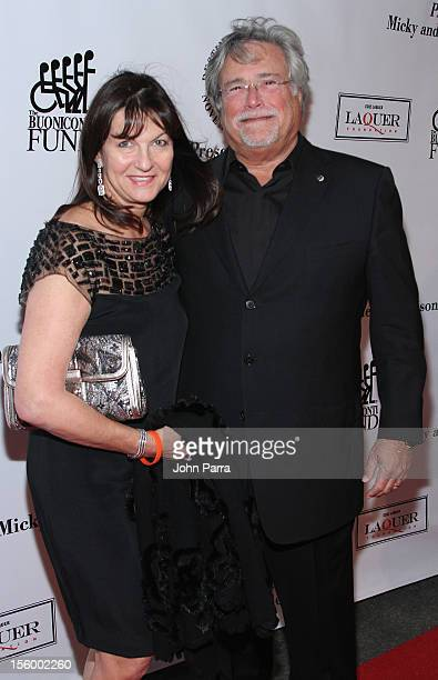 Madeleine Arison and Micky Arison attend Destination Fashion 2012 To Benefit The Buoniconti Fund To Cure Paralysis the fundraising arm of The Miami...