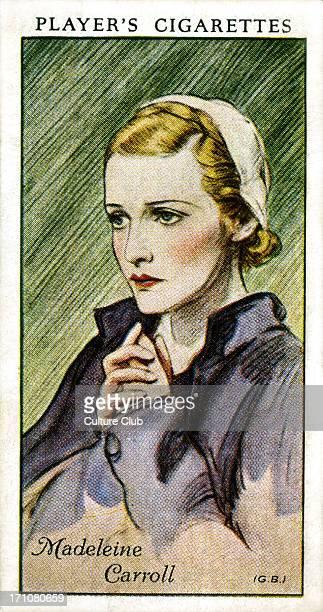 Madeleine Carroll British actress 26 February 1906 – 2 October 1987
