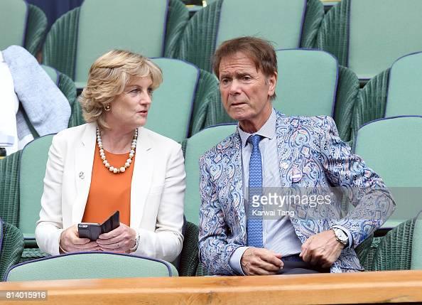 Celebrities Attend Wimbledon : Photo d'actualité