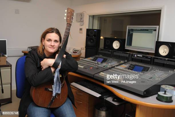 Madeleine Peyroux visits homeless charity St Mungo's brand new recording studio The facility has been built with government money in an initiative to...