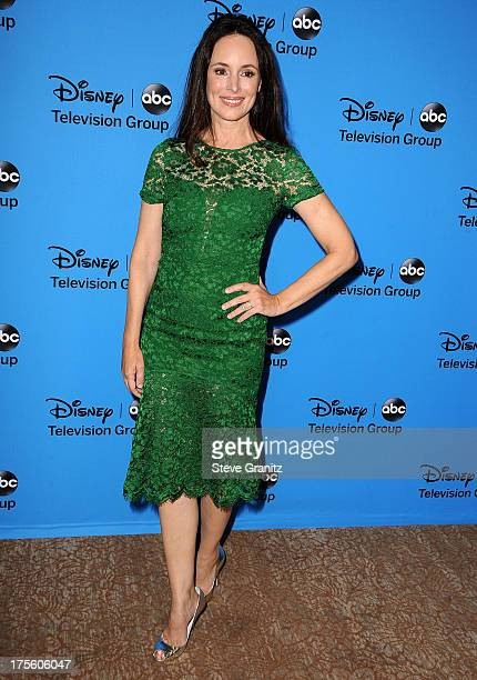 Madeleine Stowe arrives at the 2013 Television Critics Association's Summer Press Tour Disney/ABC Party at The Beverly Hilton Hotel on August 4 2013...