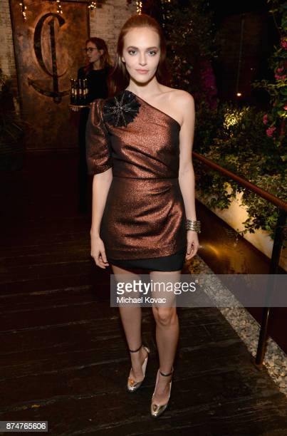 Madeline Brewer at Moet Celebrates The 75th Anniversary of The Golden Globes Award Season at Catch LA on November 15 2017 in West Hollywood California