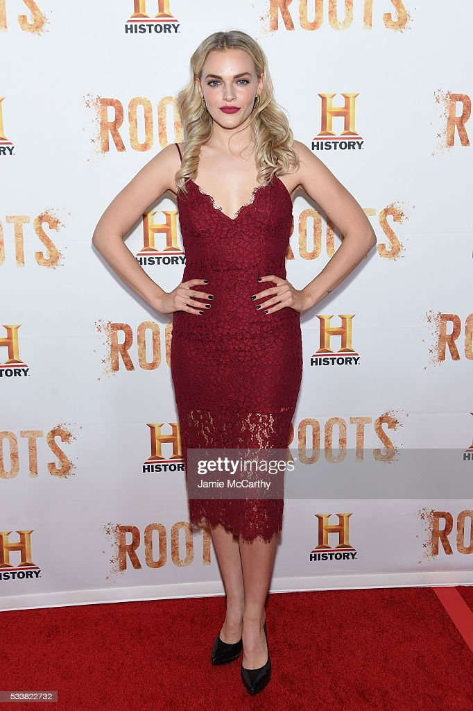 Madeline Brewer attends the 'Roots' night one screening at Alice Tully Hall Lincoln Center on May 23 2016 in New York City