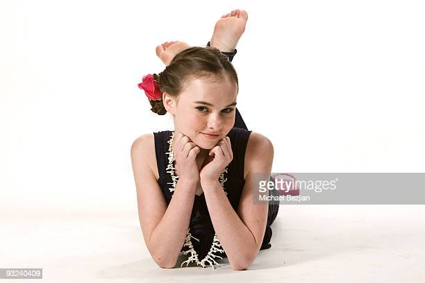 LOS ANGELES CA APRIL 16 Madeline Carroll poses at a photo shoot on April 16 2009 in Los Angeles California