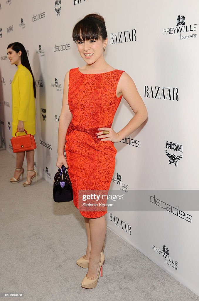 Madeline Fuhrman attends the Harper's BAZAAR celebration of the launch of Bravo TV's 'The Dukes of Melrose' starring Cameron Silver and Christos Garkinos at Sunset Tower on February 28, 2013 in West Hollywood, California.