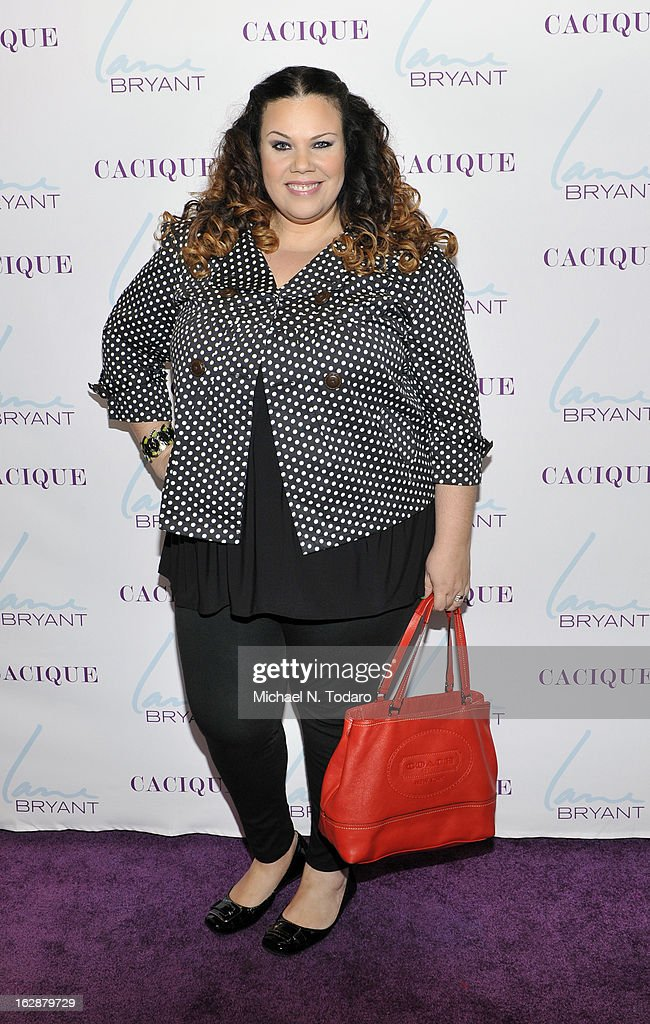 Madeline Jones attends the opening party for the Lane Bryant 34th Street Flagship Store on February 28, 2013 in New York City.