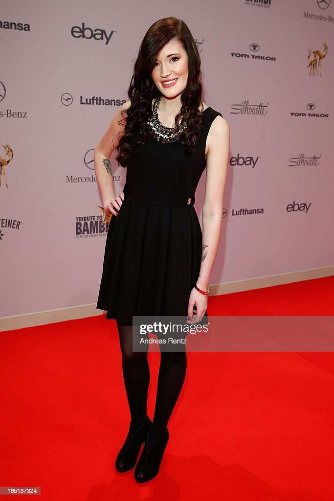 Madeline Juno arrives at Tribute To Bambi at Station on October 17, 2013 in Berlin, Germany.