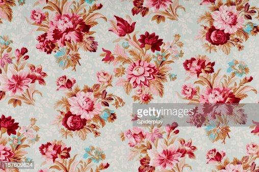 Madeline Medium Antique Floral Fabric