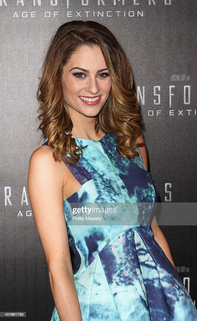 <a gi-track='captionPersonalityLinkClicked' href=/galleries/search?phrase=Madeline+Mulqueen&family=editorial&specificpeople=10281619 ng-click='$event.stopPropagation()'>Madeline Mulqueen</a> attends the Irish Premiere of 'Transformers 4: Age of Extinction' at Savoy Cinema on July 3, 2014 in Dublin, Ireland.