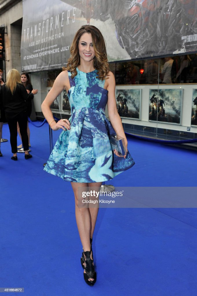 Madeline Mulqueen attends the Irish Premiere of 'Transformers 4: Age of Extinction' at Savoy Cinema on July 3, 2014 in Dublin, Ireland.