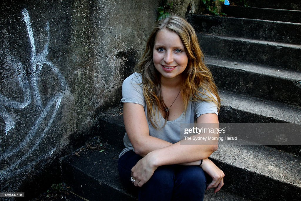 Madeline Pulver poses for a portrait on December 15, 2011 in Sydney, Australia. In August this year, she was the victim of a bomb hoax when a man broke into her family home and attached a fake collar bomb to her neck. An Australian man, Paul Pulver, was arrested in the United States for the crime and is now facing charges in Australia. (Photo by Ben Rushton/The Sydney Morning Herald/Fairfax Media via Getty Images).