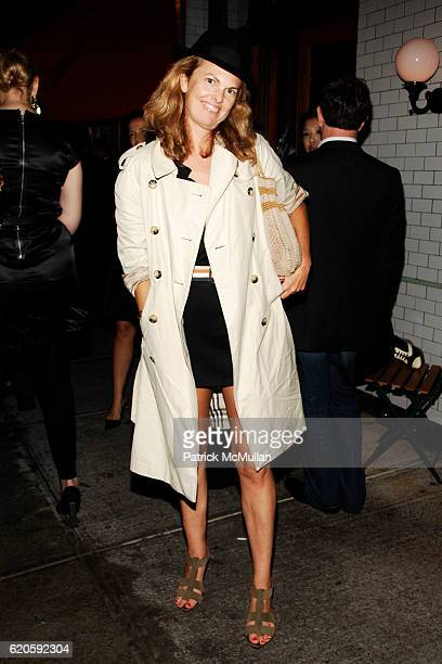Madeline Weeks attends Private Dinner hosted by CARLOS JEREISSATI CEO of IGUATEMI at Pastis on September 6 2008 in New York City
