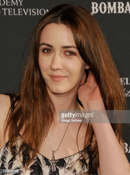 Madeline Zima arrive sat the 17th Annual BAFTA Los Angeles Awards Season Tea Party at the Four Seasons Hotel on January 15 2011 in Los Angeles...