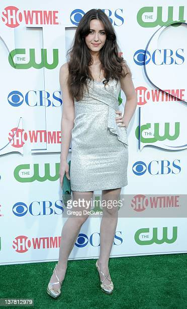 Madeline Zima arrives at the CBS The CW Showtime Summer Press Tour Party held at The Tent on July 28 2010 in Beverly Hills California