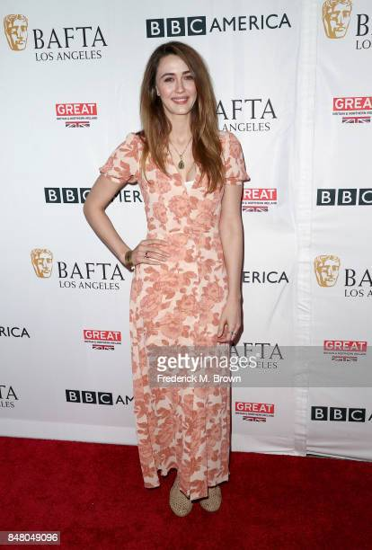 Madeline Zima attends the BBC America BAFTA Los Angeles TV Tea Party 2017 at The Beverly Hilton Hotel on September 16 2017 in Beverly Hills California
