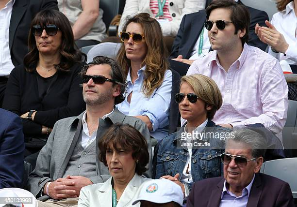 Mademoiselle Agnes and Ariane Massenet attend Day 12 of the French Open 2014 held at RolandGarros stadium on June 5 2014 in Paris France