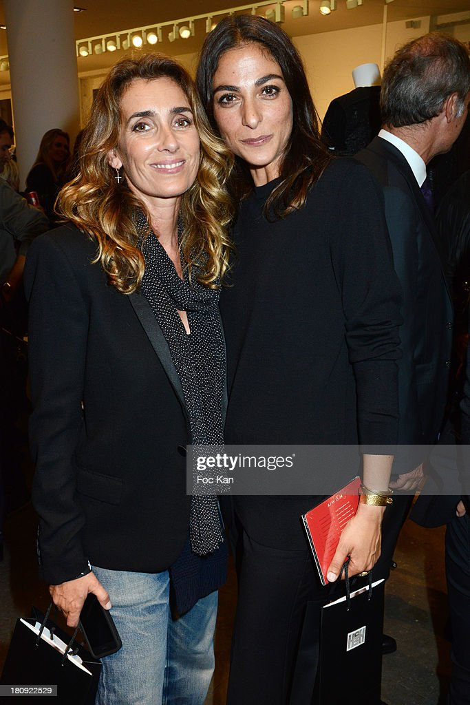 Mademoiselle Agnes and Vogue France Fashion and Market editor Capucine Safyurtlu attend the Colette Shop Cocktail during the Vogue Fashion Night Out on Rue Saint Honore on September 17, 2013 in Paris, France.