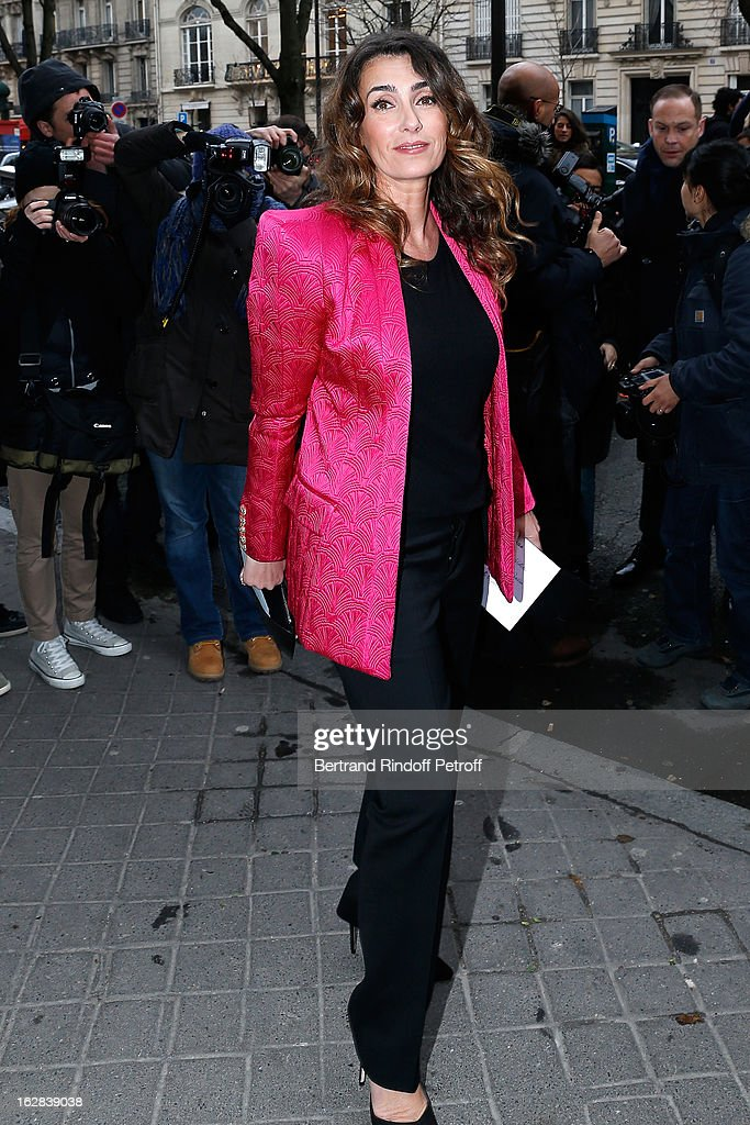 Mademoiselle Agnes attends the Balenciaga Fall/Winter 2013 Ready-to-Wear show as part of Paris Fashion Week on February 28, 2013 in Paris, France.