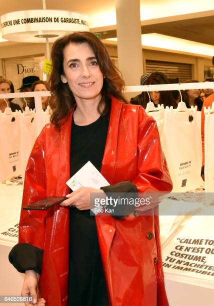 Mademoiselle Agnes attends the 'Entendu Au Bon Marche' Loic Prigent Book Launch Cocktail Fest Noz at Bon Marche on February 28 2017 in Paris France
