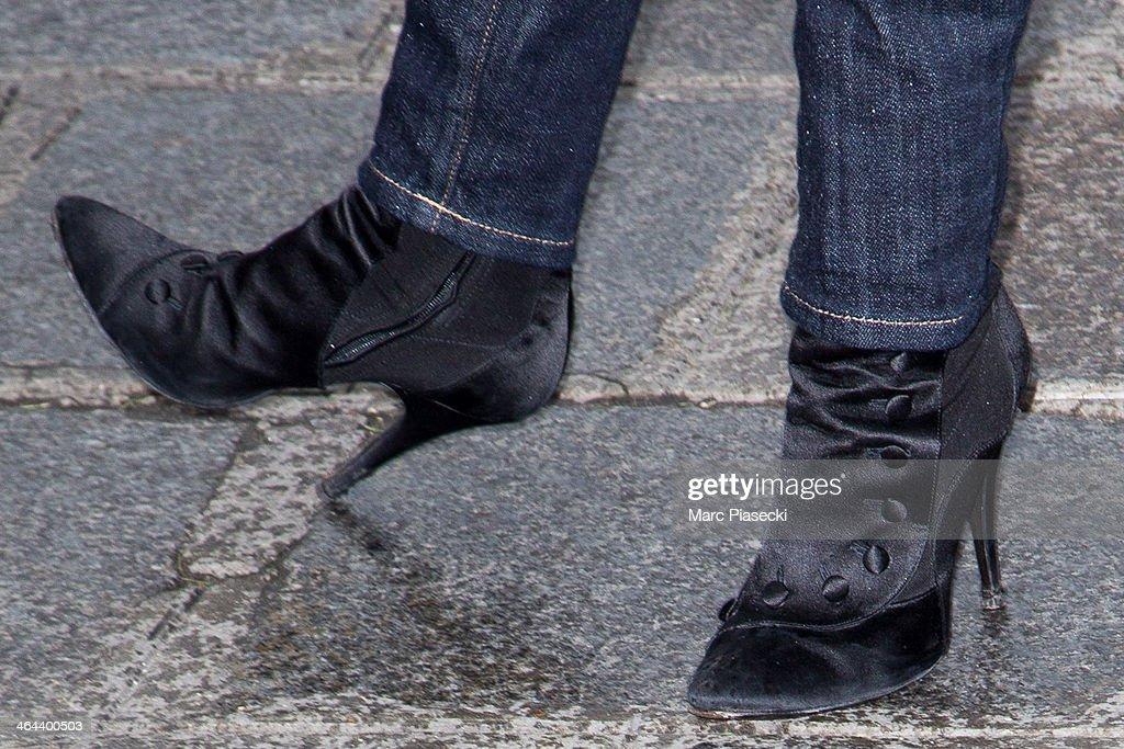 Outside arrivals paris fashion week haute couture s getty images - Mademoiselle jean paul gaultier ...