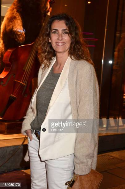 Mademoiselle Agnes attends the Lancel celebration of '135 Years Of French Legerete' Hosted By Sienna Miller at Lancel Shop Champs Elysees on November...