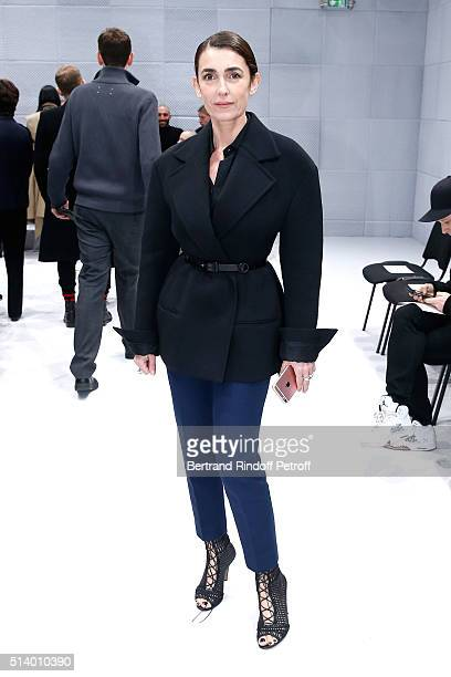 Mademoiselle Agnes Boulard attends the Balenciaga show as part of the Paris Fashion Week Womenswear Fall/Winter 2016/2017 on March 6 2016 in Paris...