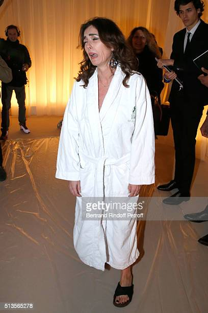 Mademoiselle Agnes Boulard attends the Lanvin show as part of the Paris Fashion Week Womenswear Fall/Winter 2016/2017 on March 3 2016 in Paris France
